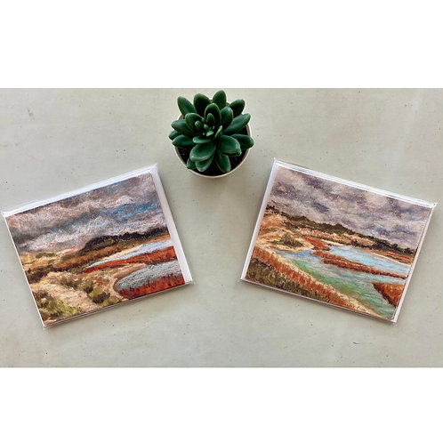 San Elijo Lagoon 5 Notecards