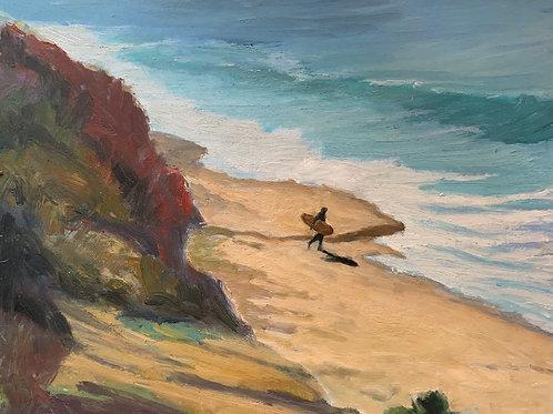 Morning Surfer