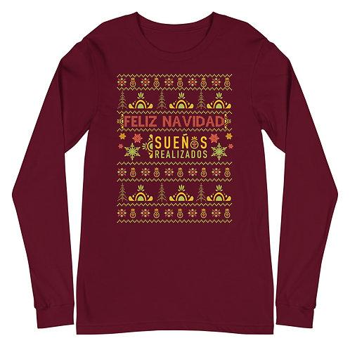 """Feliz Navidad"" Premium Long Sleeve"