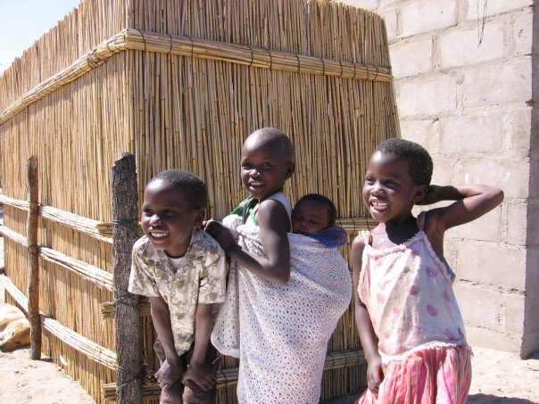 Children at Etsa Village