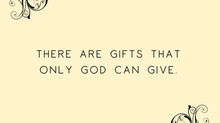 Only God Can Give
