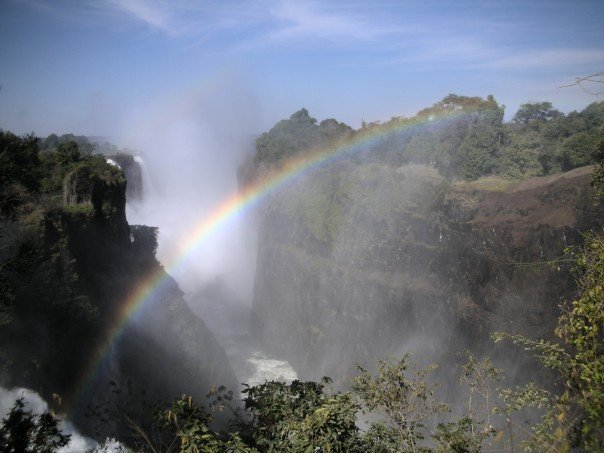 Rainbow in Zambia