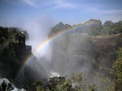 Rainbow in Zambia