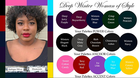 seasonal color analysis deep winter