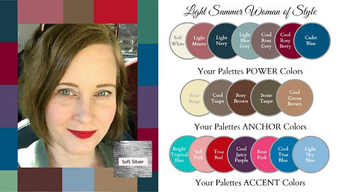 seasonal color analysis light summer