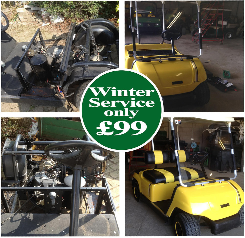 golf buggy servicing northwest