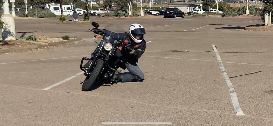 Fast Eddie practicing