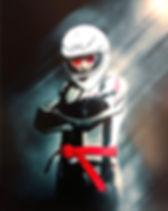 Red belt   Riding at low speed   MotoJitsu