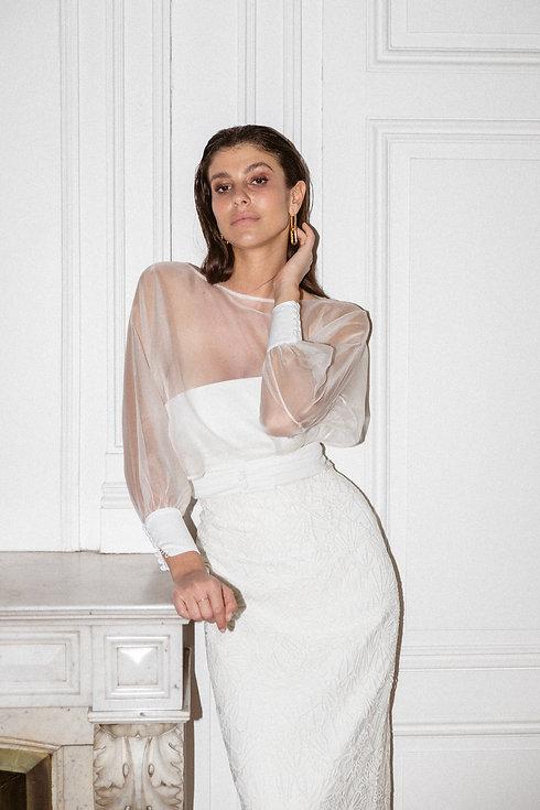Florence M robe de mariée moderne