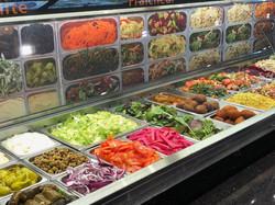 Nombreuses salades