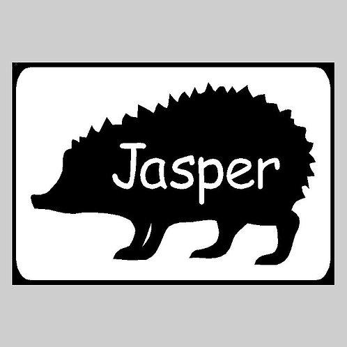 Hedgehog Plaque