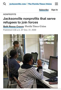 Jacksonville nonprofits that serve refug