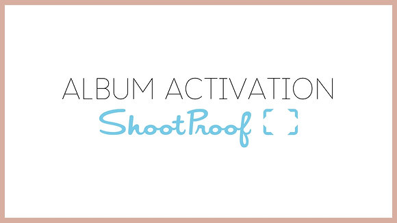 1 Month ShootProof Activation