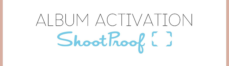 ShootProof Gallery Activation / Hosting