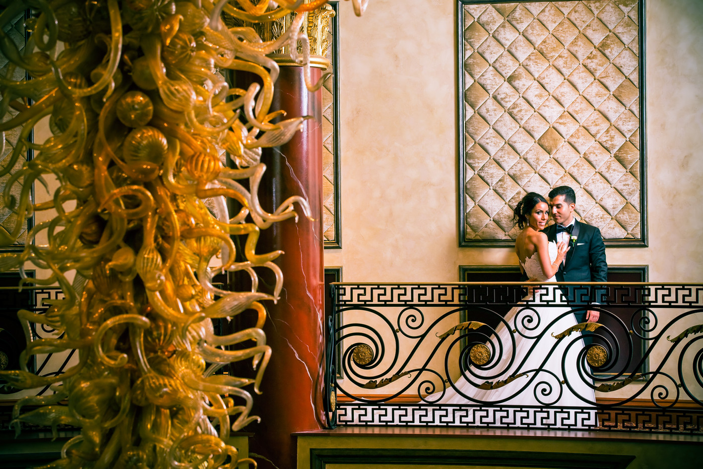 #NJwedding photo at The Venetian by Abella Studios