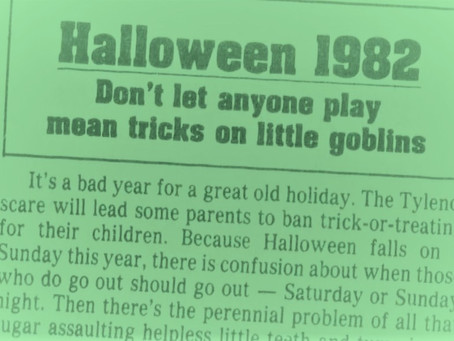 Mayor's Editorial for 3/13/2020 - Trick or Treating Part 1