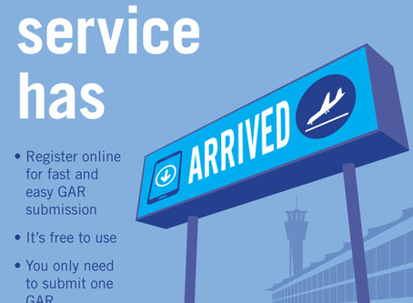 New 'Submit a GAR' service now live!