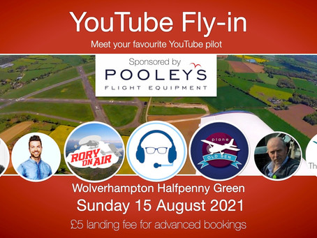 YOU TUBE - FLY-IN        15TH AUGUST 2021 - POSTPONED