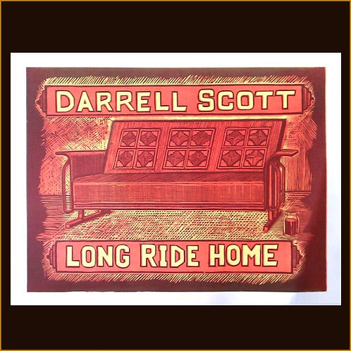 Autographed Long Ride Home Print