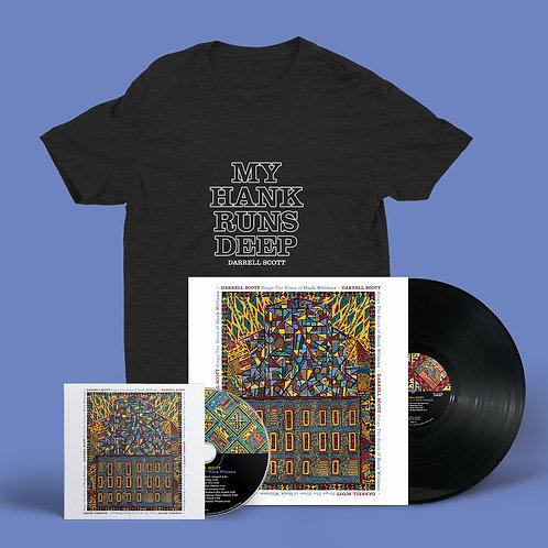 Hank Vinyl + CD + Tee
