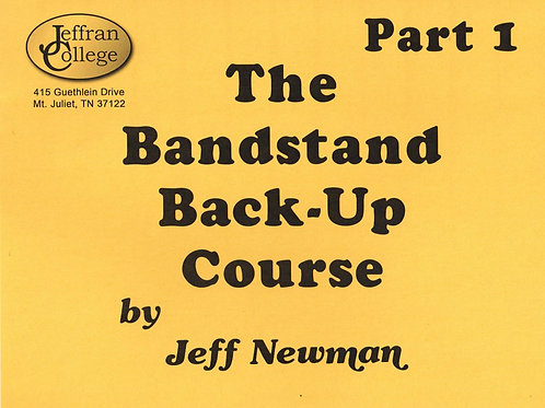 Bandstand Backup Part One