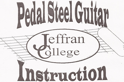 The Pedal Steel Guitar Illustrated DVD