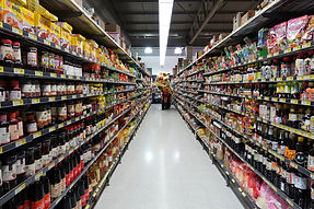 Hong Kong Supermarket Aisle