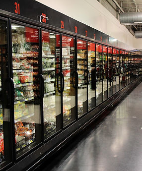 Hong Kong Supermarket Frozen Aisle