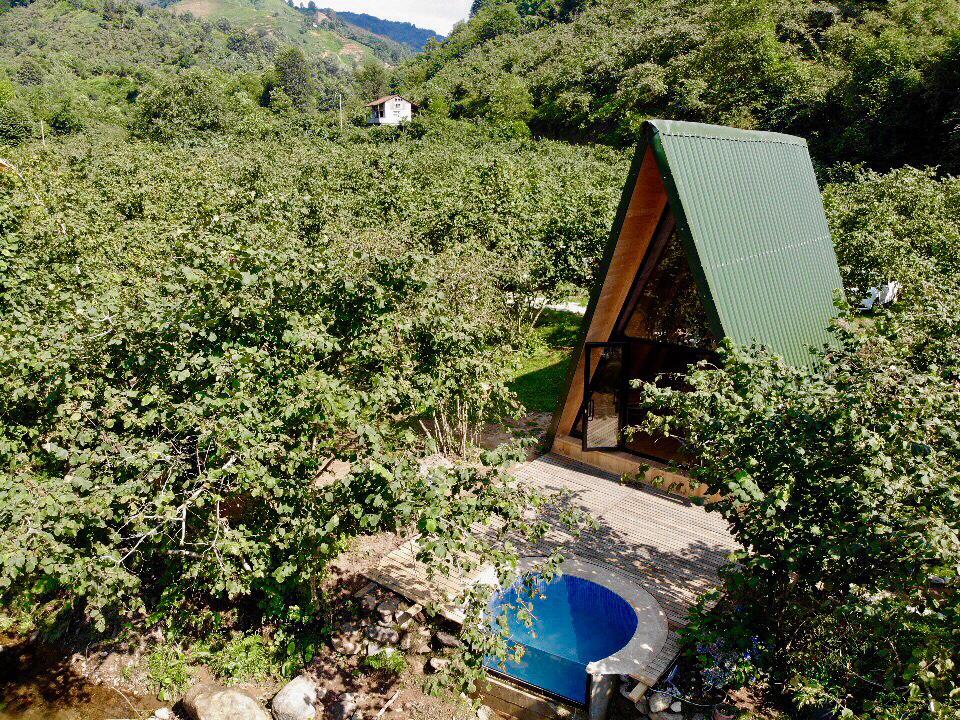 Havuzlu bungalovumuz