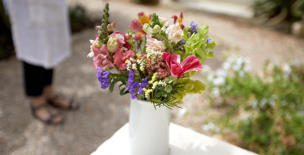 Fresh Flowers from the Garden