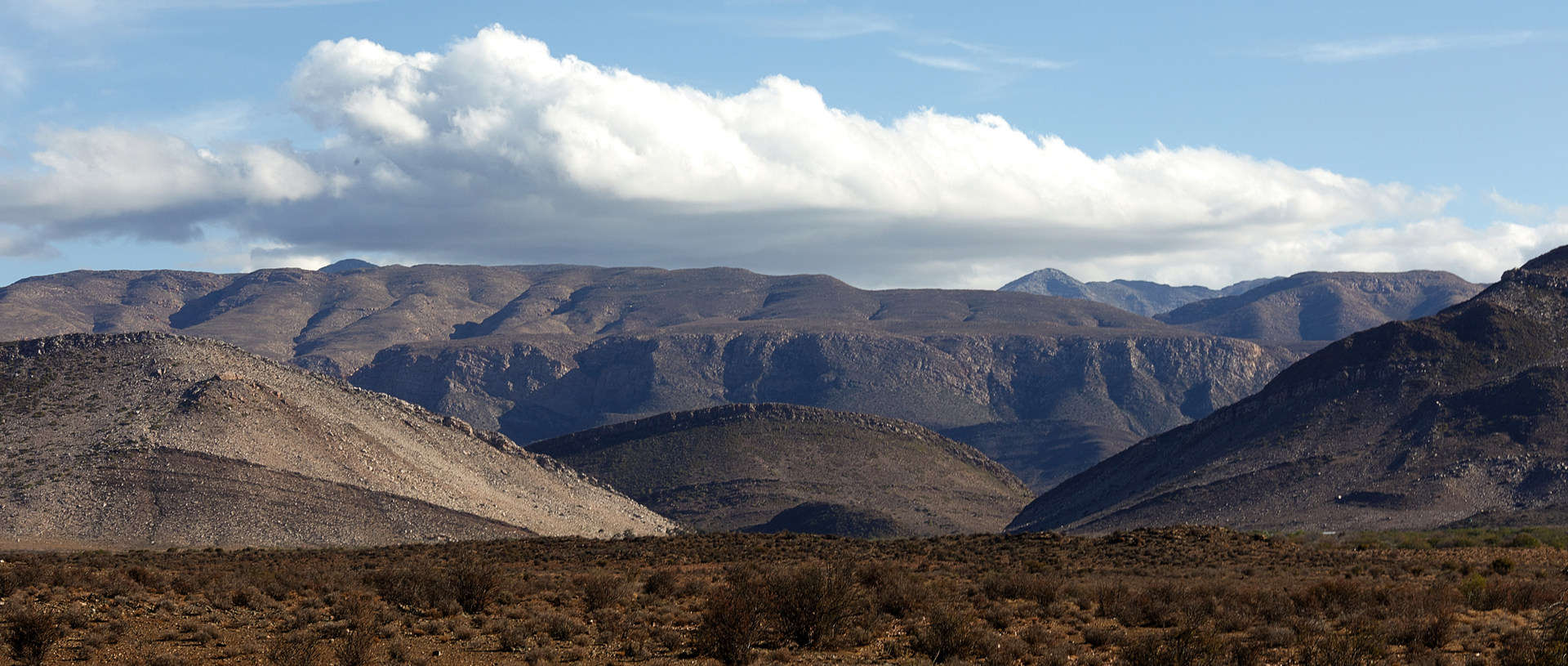 View of the Swartberg, Prince Albert