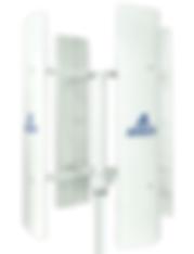 Aerogenerador de eje vertical de 3 Kw a 10Kw