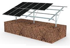 Sistemas de Montaje de paneles solares Chicosolar para techo y piso