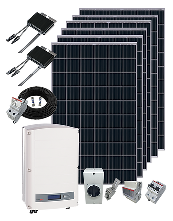 Kit Solar completo Kit Fotovoltaico conectado a la red de UTE