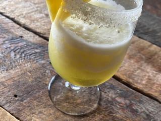 Citrus Ginger Rimmed Pineapple Ginger Margarita