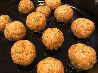 Sideways Meatballs
