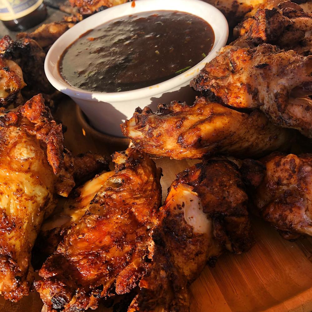 """""""Bourbon"""" Chicken Wings"""