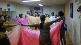 North African Belly Dance with Veils