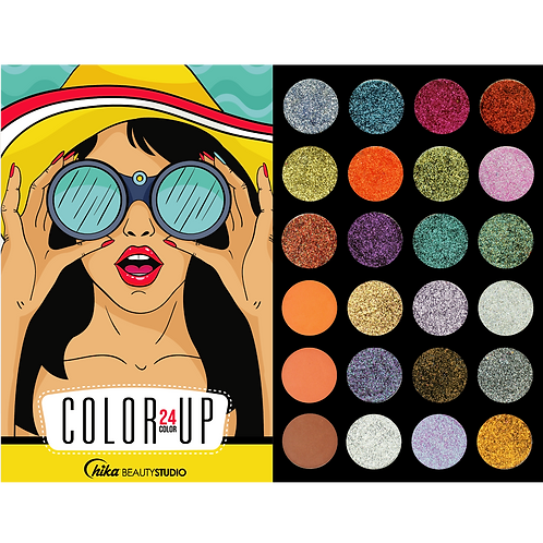 COLOR UP EYESHADOW PALETTE (C)