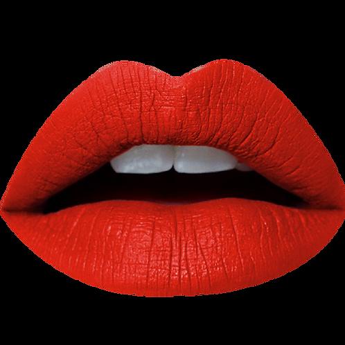 NEW CHIKA MATTE LIQUID LIPSTICK OVAL PLUSH RED #14