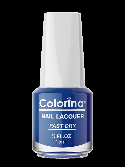 COLORINA NAIL LACQUER #89 NEON BLUE