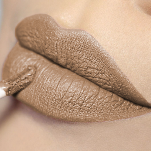 COLORINA BE NUDE MATTE LIPGLOSS CAFE LATTE #04