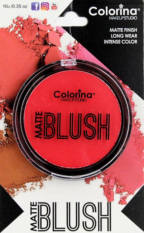 COLORINA BLISTER MATTE BLUSH #04