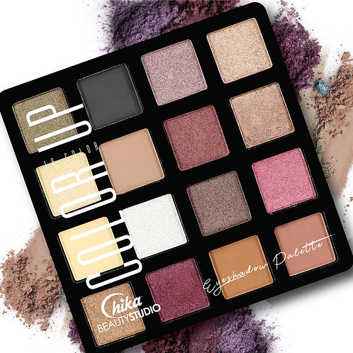 CHIKA COLOR UP EYESHADOW PALETTE C