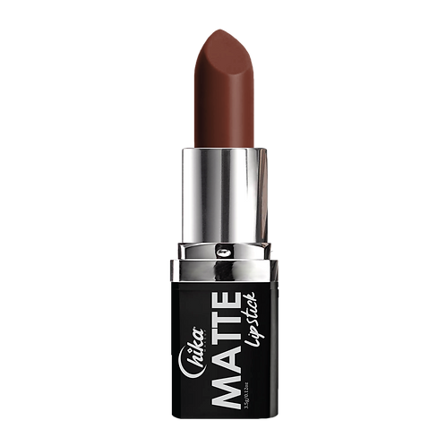 NEW CHIKA MATTE LIPSTICK BROWN SUGAR #17
