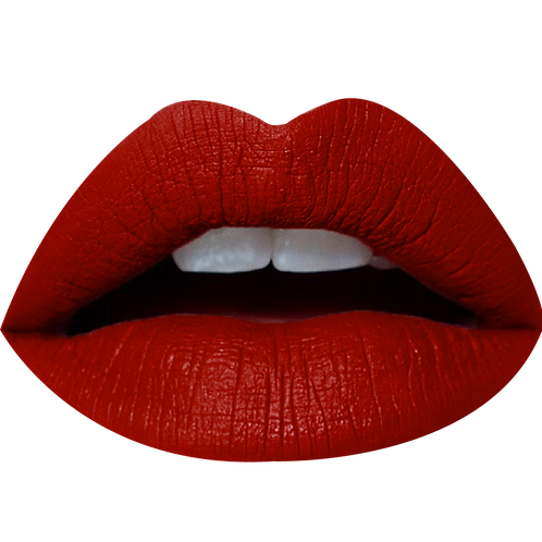 NEW CHIKA MATTE LIQUID LIPSTICK OVAL HOT RED #01