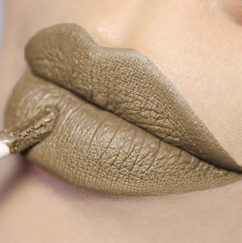 COLORINA BE NUDE MATTE LIPGLOSS TAUPE #07