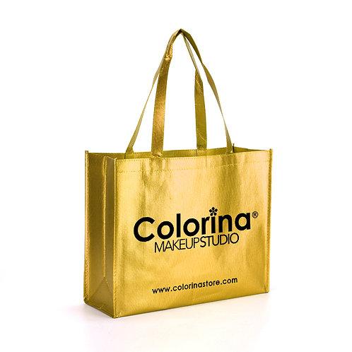 COLORINA GOLD TOTE BAG