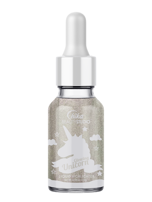 GLOWING UNICORN LIQUID DROP HIGHLIGHTER AWESOME