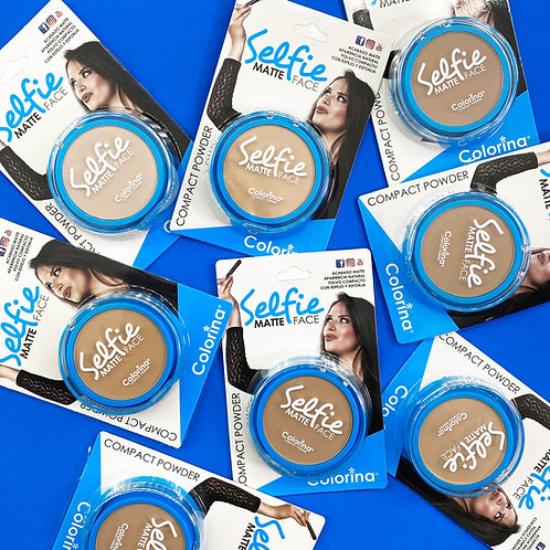 15 SHADES OF SELFIE FACE COMPACT POWDER BUNDLE